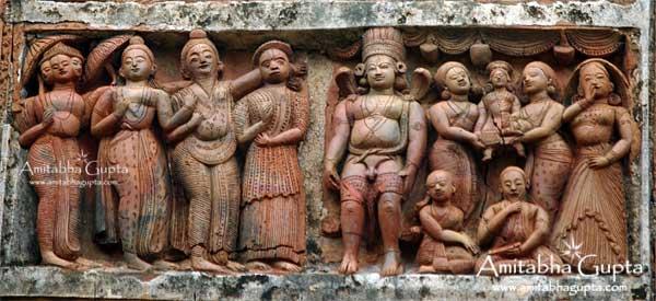 Lord Shiva's Marraige, Sridhar Temple, Sonamukhi