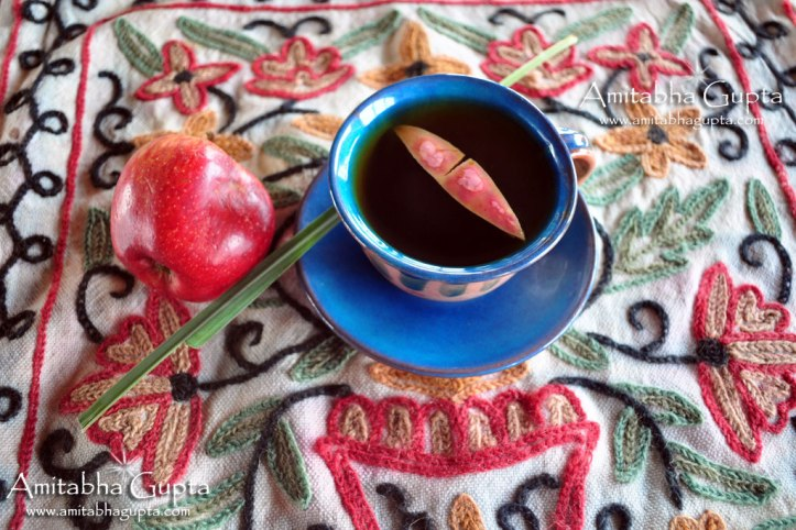 Apple Chai - A bit strong -Blended tea at Chai Country. Recipe by Laltu Purkait